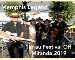 Memphis Legend Vainqueur du Festival Off de Country In Mirande 2019 se produit au Resto Les Deux Frangines à St Ferreol (31) à 21h00 le 30 août 2019