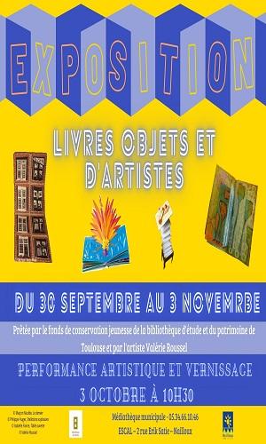 Exposition : «Livres objets et d'artistes»