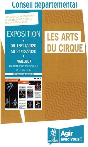 Exposition : «Les arts du cirque»