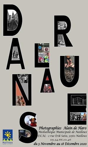 Exposition : «Dans la rue» d'Alain De Haro