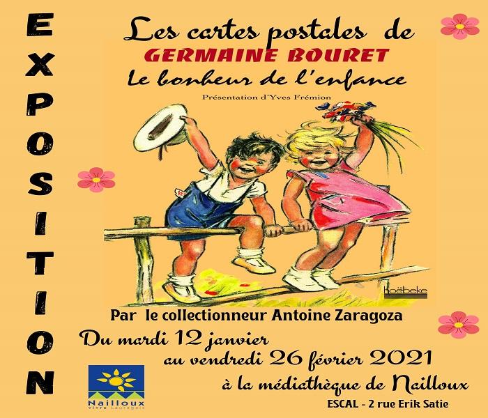 Exposition : Les cartes postales de Germaine Bouret par Antoine Zaragozza