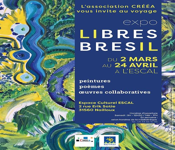 Expositio: Libre Bresil par l'association CREEA