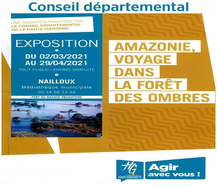 Exposition : «Amazonie» par la Médiathèque Départementale de la Haute-Garonne