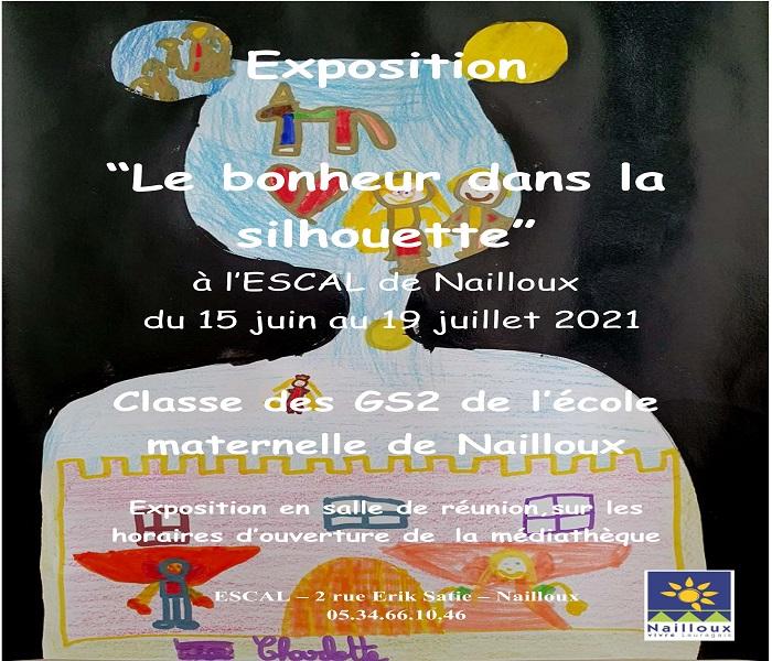 You are currently viewing Le bonheur dans la silhouette par les Grandes Sections de l'école maternelle de Nailloux