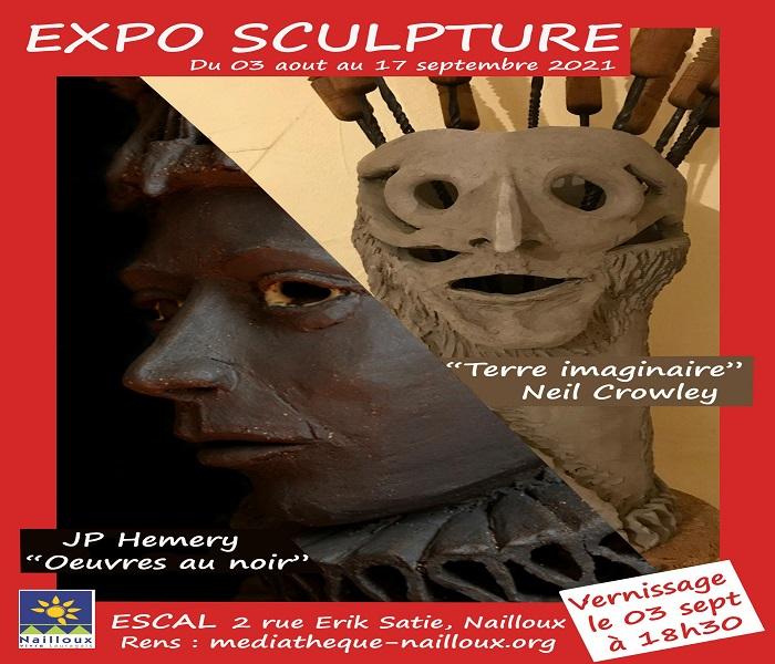 You are currently viewing Exposition : Sculpture par deux artistes